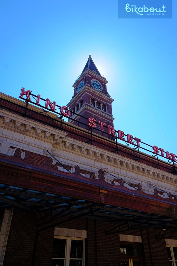 King Street Amtrak Station