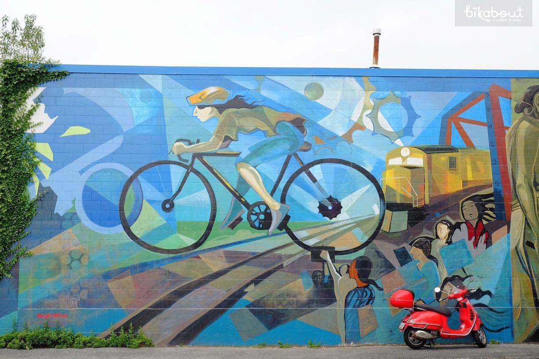 Vancouver, BC - Strathcona neighborhood greenway
