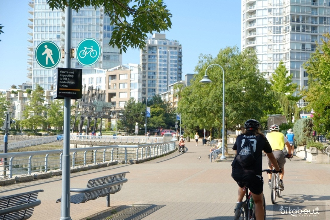 Seawall Bike Path