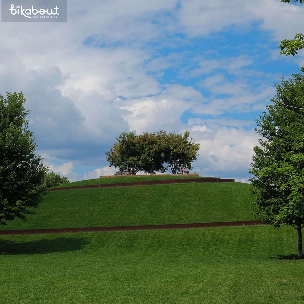 Gold Medal Park's Curly Q Hill