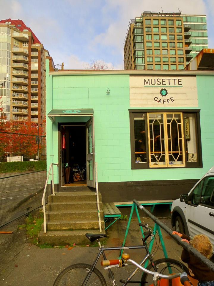 Bike centric, Musette Caffe