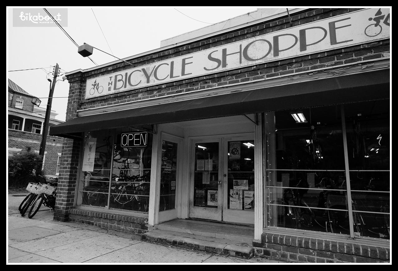 Rent bikes from Bicycle Shoppe for $7/hour or $28/day