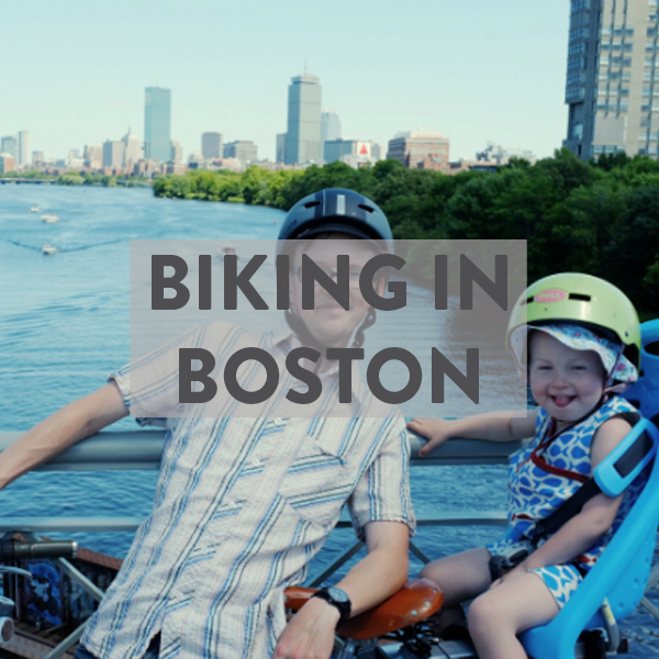 Biking in Boston