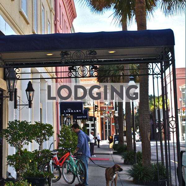 Bike friendly lodging in Charleston
