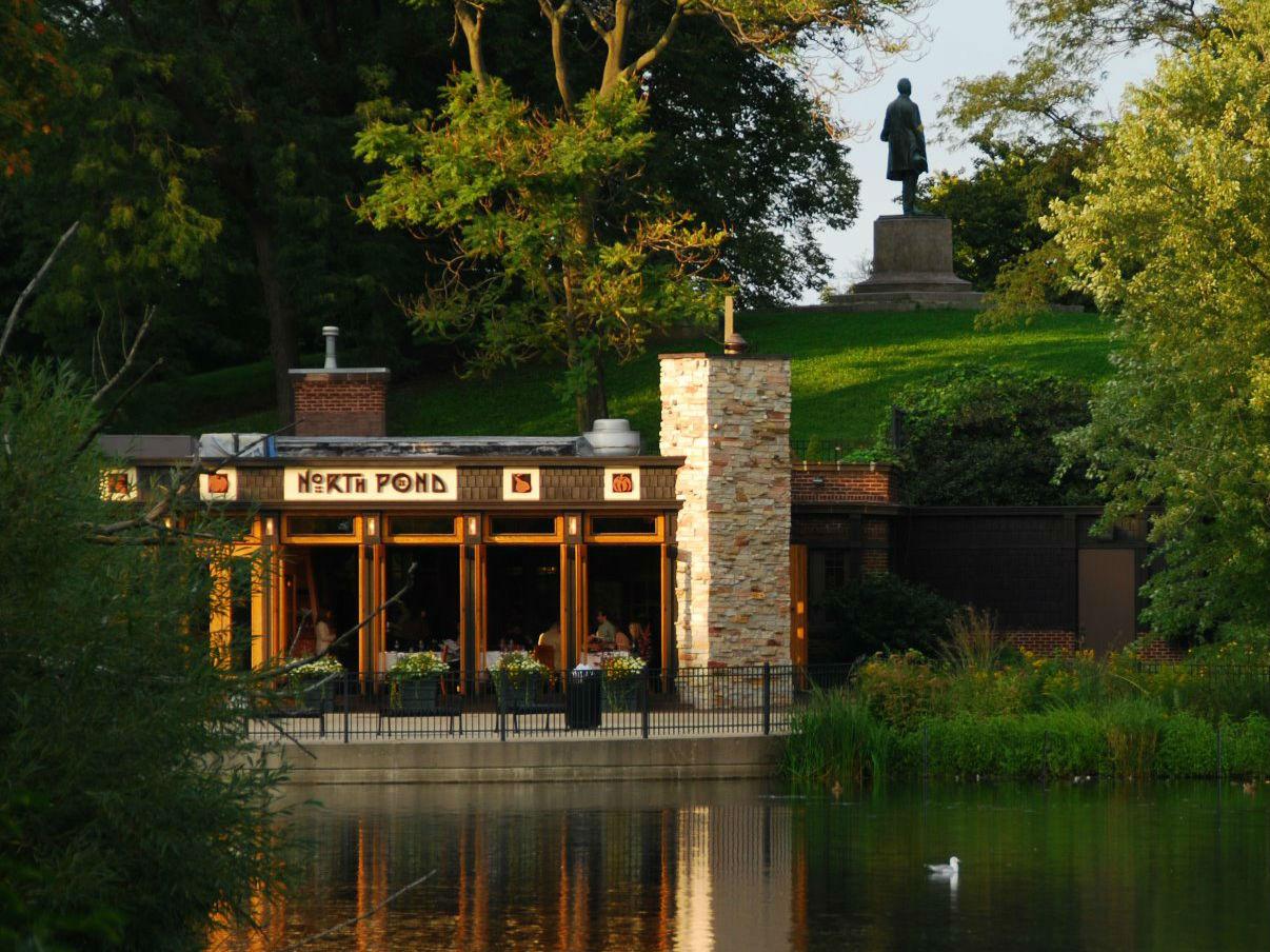 North Pond, location of Peggy Notebaert Nature Museum