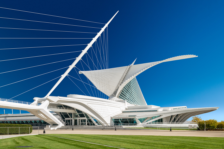Milwaukee Art Museum - photo by Morgan Sheff