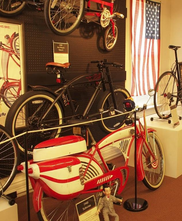 Bicycle Museum of America, New Bremen, OH- photo by Weaver Cycle Works
