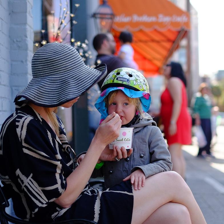 Ice cream stops are mandatory