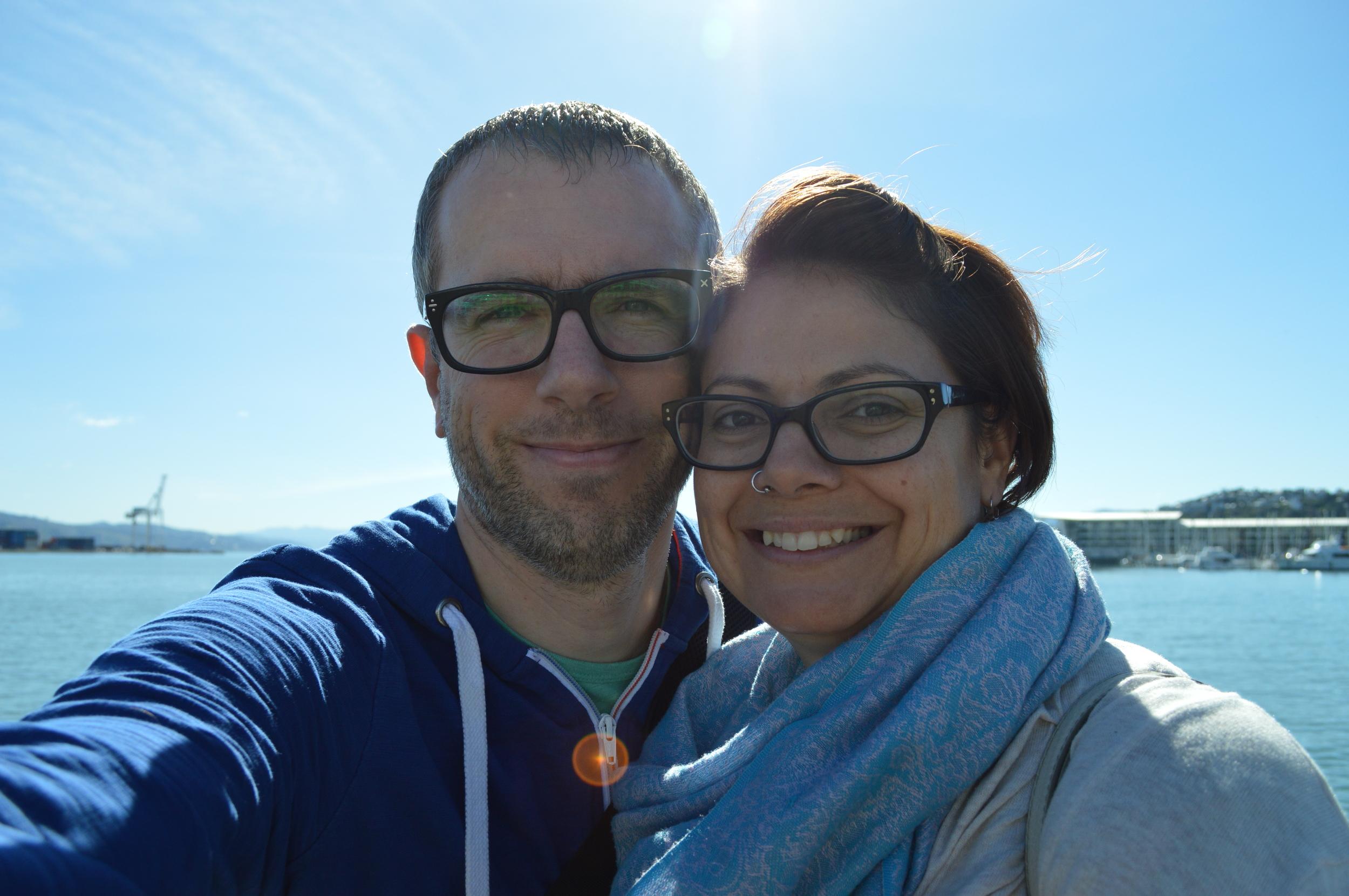 Melissa & Chris Bruntlett
