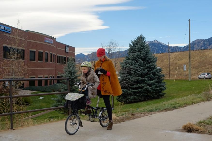 Boulder, Colorado. November, 2014. 0 mph. Bike arrived here by: Plane.