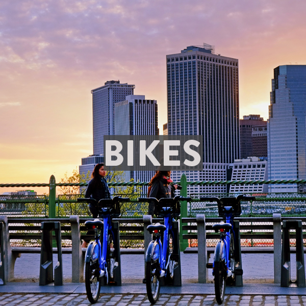 Renting bikes in New York City