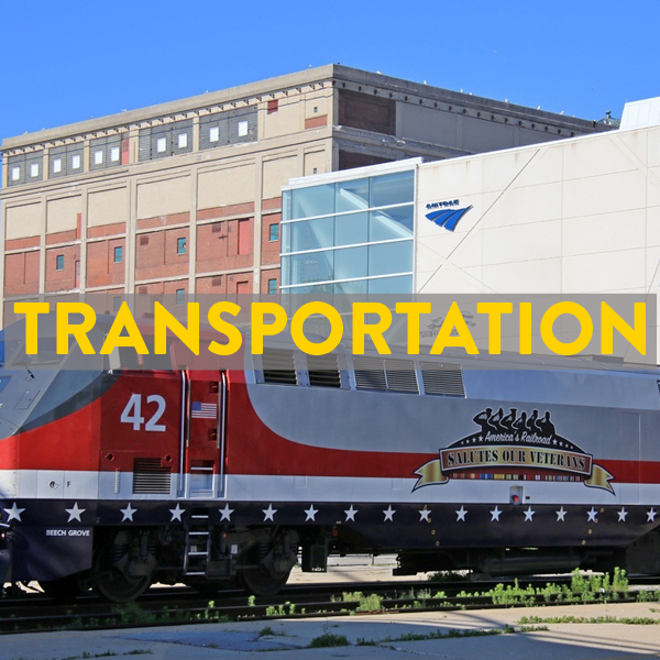 Trains, buses, flights with your bike to Milwaukee