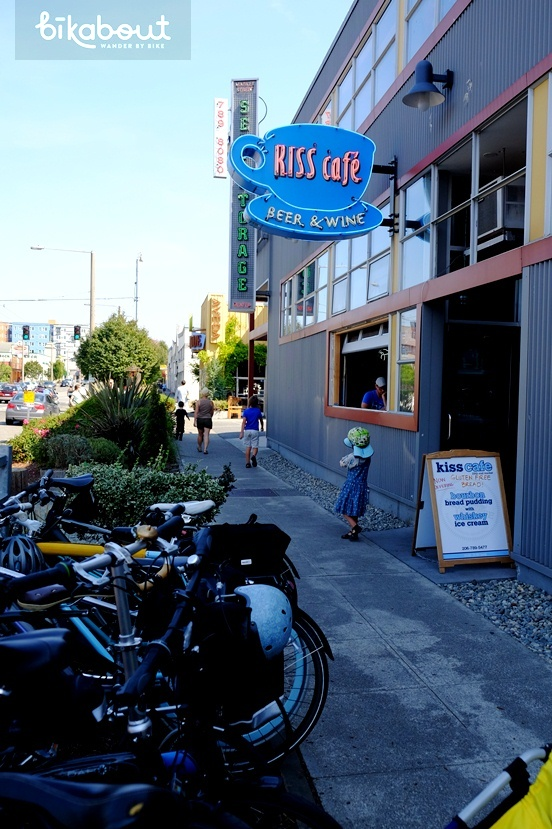 Ballard's Kiss Cafe is a perfect place to grab some sandwiches and beer to go.