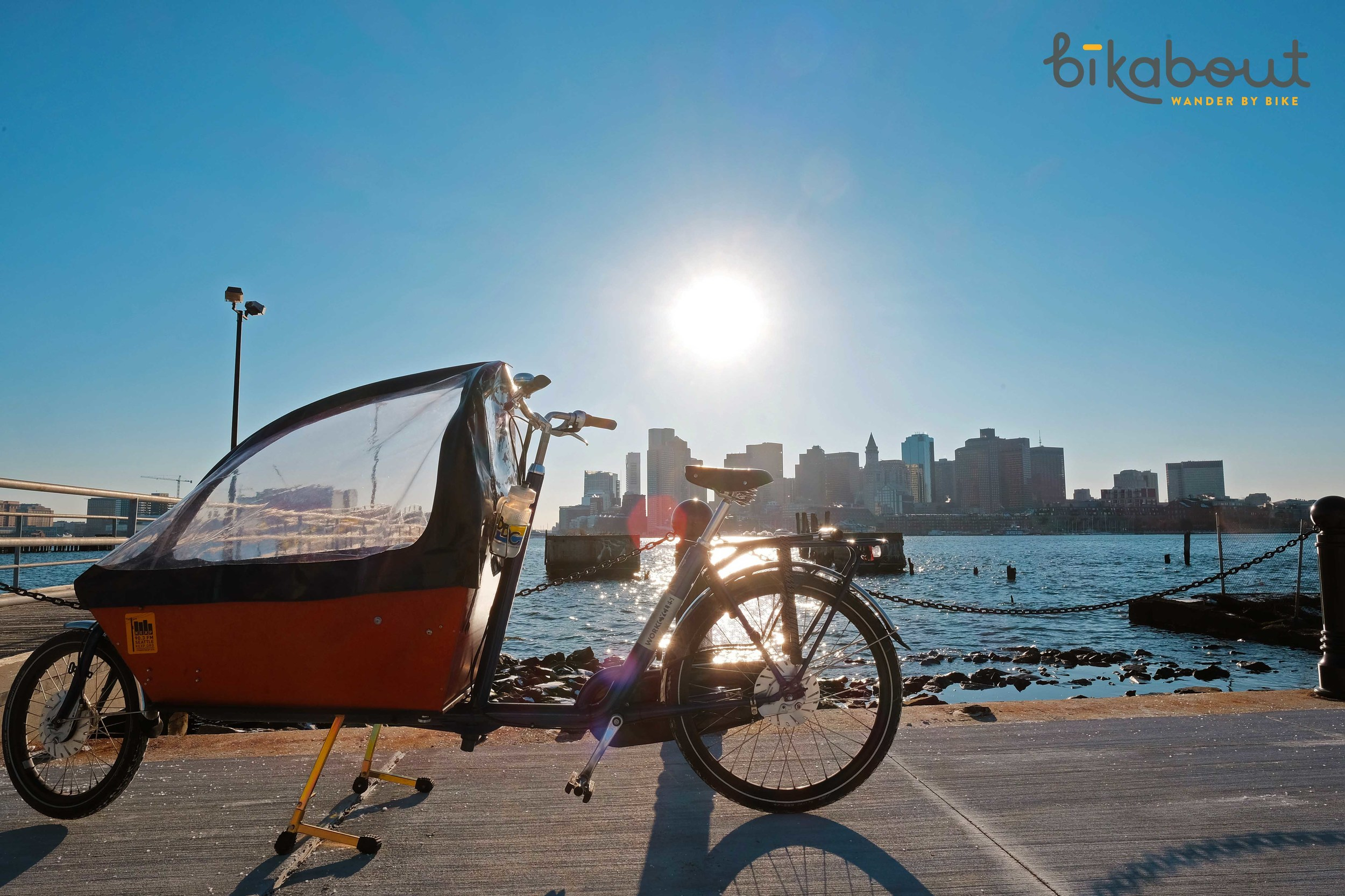 Give yourself 20 minutes of buffer time just to take in this view from the East Boston waterfront. After you exit the Maverick elevator, turn around 180 degrees and take the path to the waterfront.
