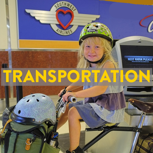 Trains, buses, flights with your bike to Atlanta and Athens