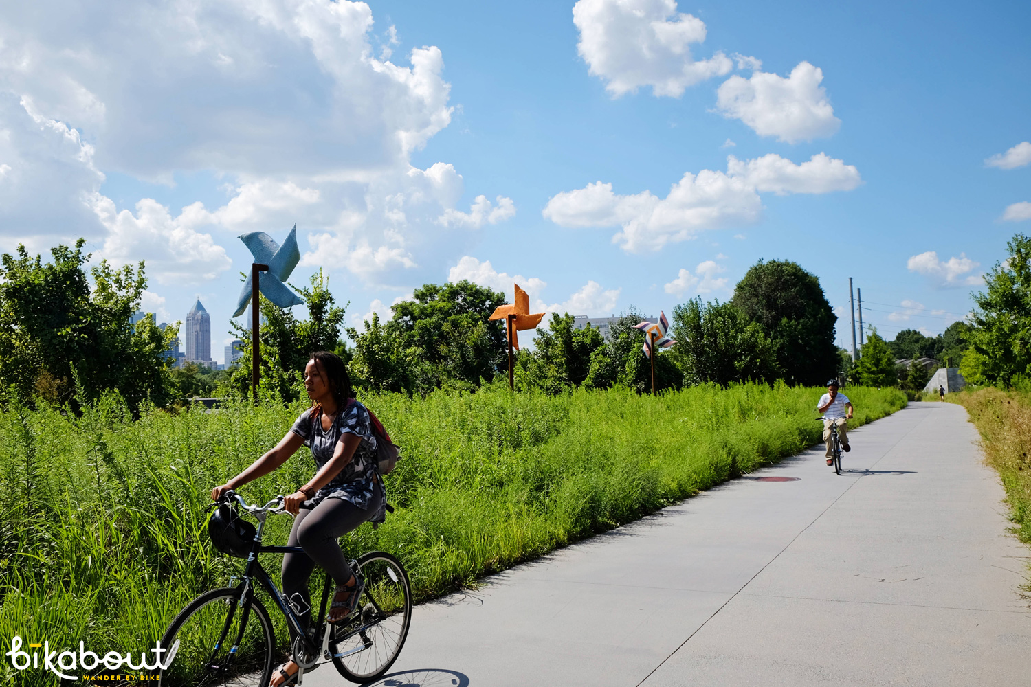 Your city is winning when you don't have to scour to find a young, black woman riding a bike.