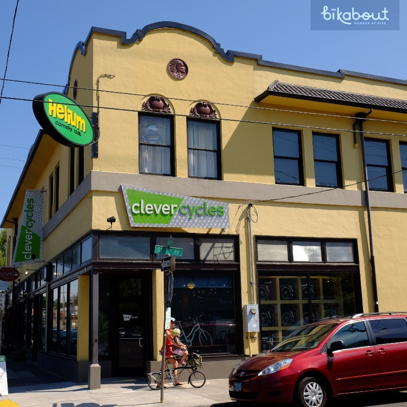 Clever Cycles is both an amazing bike shop and rents the best bikes in North America.