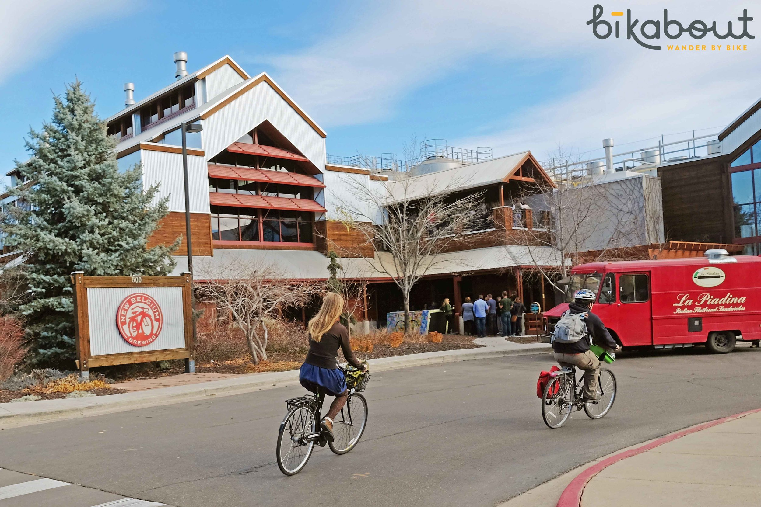 New Belgium Brewery, the original bike friendly brewery located in Fort Collins, CO.