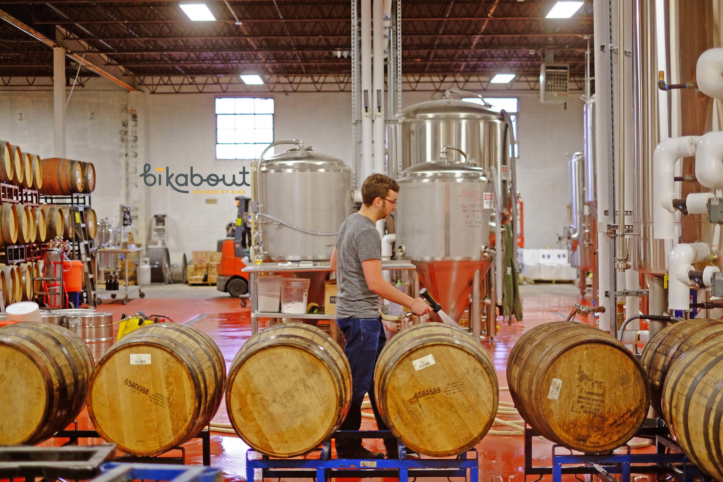 """Night Shift Brewing's Rob Burns curated """"Hoppy New Year, Boston!"""" for Bikabout."""
