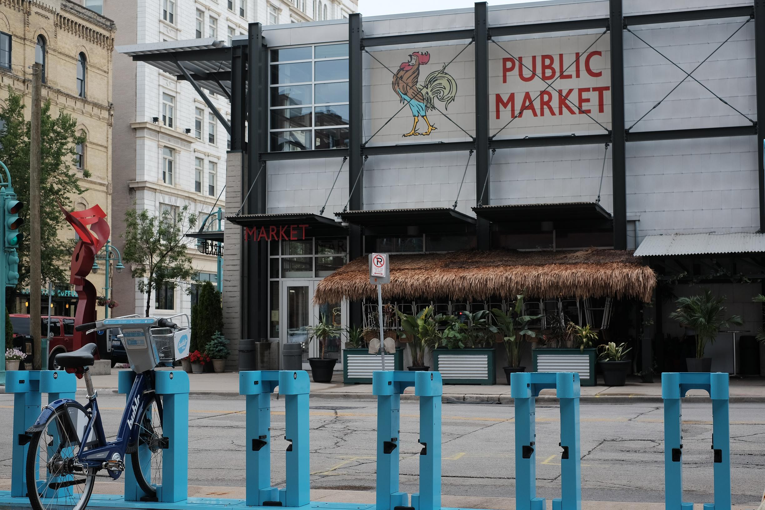 Bublr Bikes at the Public Market