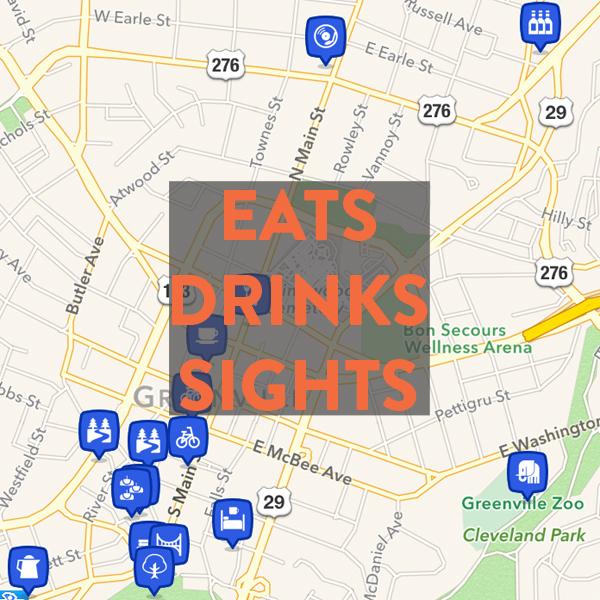 Best eats, drinks & sights in Greenville