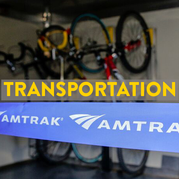 bike friendly airlines, trains, buses in Greenville