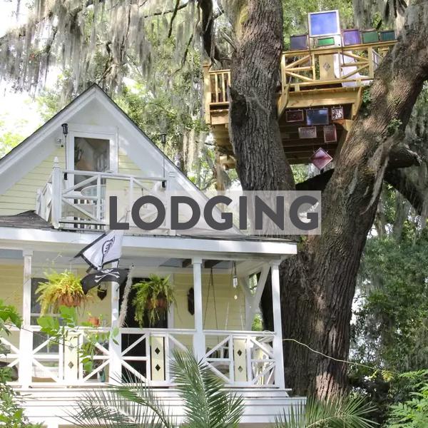 bike friendly hotels & airbnbs in Savannah