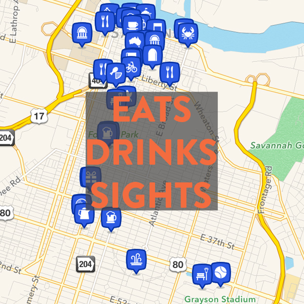 Best eats, drinks & sights in Savannah