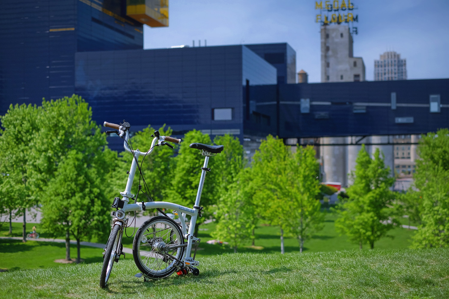 Perennial Cycle rents Brompton folding bikes for $45 daily.