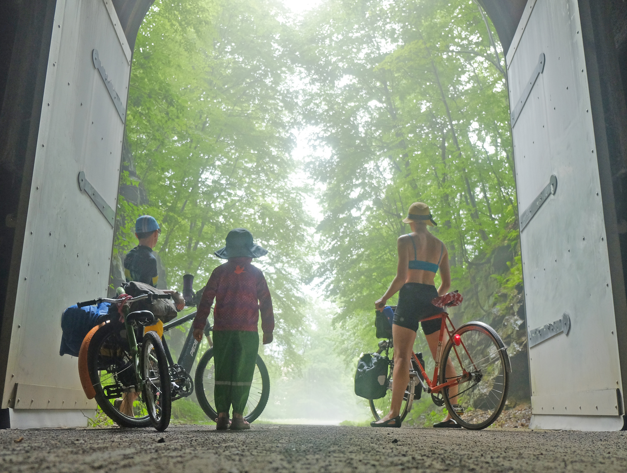 GAP Trail and C&O — bikabout
