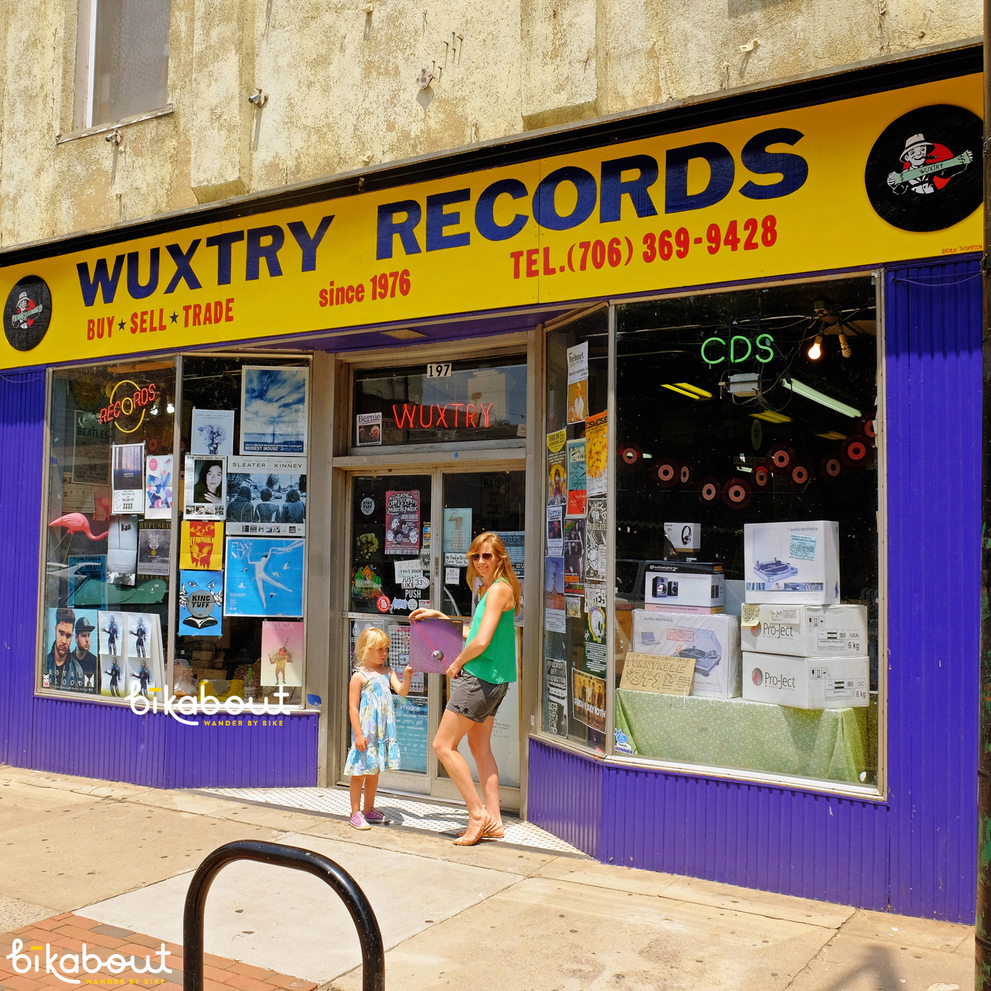 Wuxtry Records, Athens