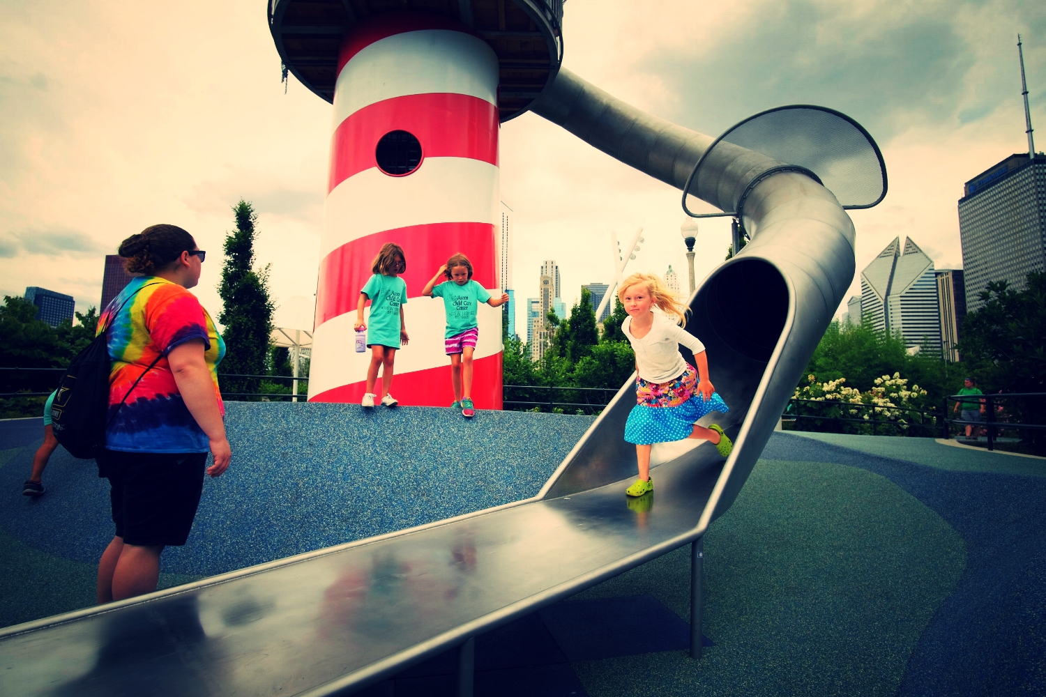 Maggie Daly Playground, Grant Park, Chicago