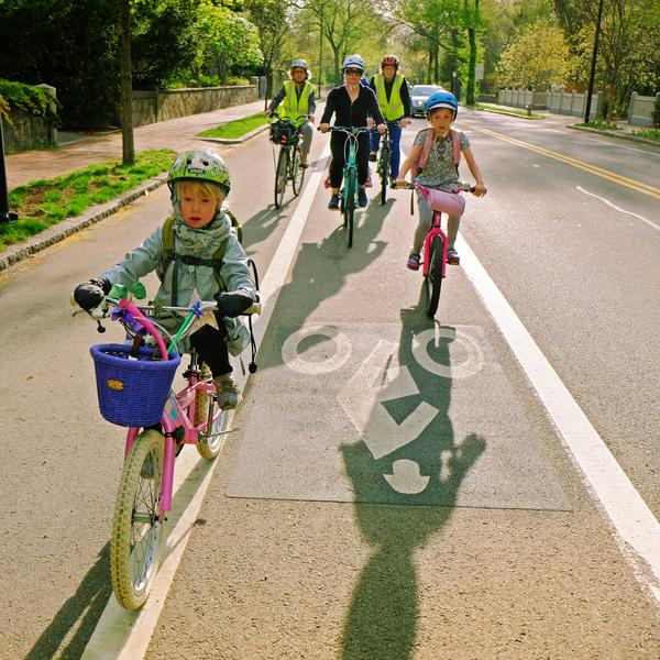 National Bike to School Day, Cambridge, MA