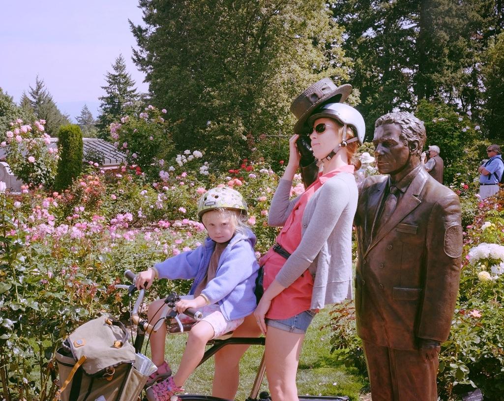 International Rose Test Garden, Portland, OR