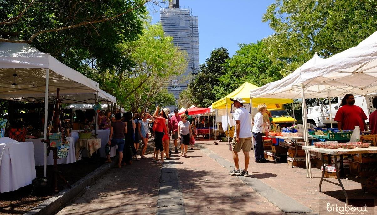 Charleston Farmer's Market in Marion Square