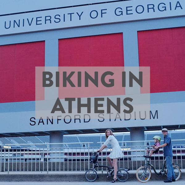 How to bike in Athens, GA