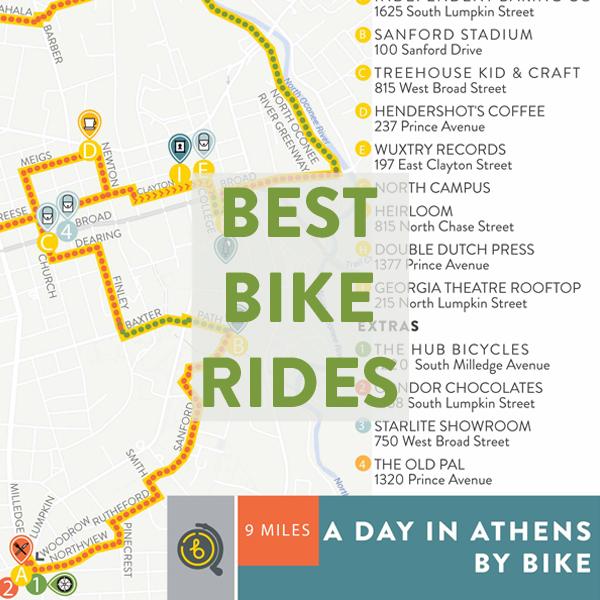 Best Bike Rides in Athens
