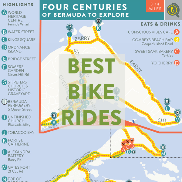 Best Bike Rides in Bermuda