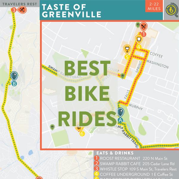Best Bike Ride in Greenville