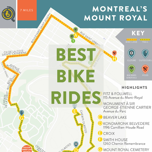 Best Bike Rides in Montreal
