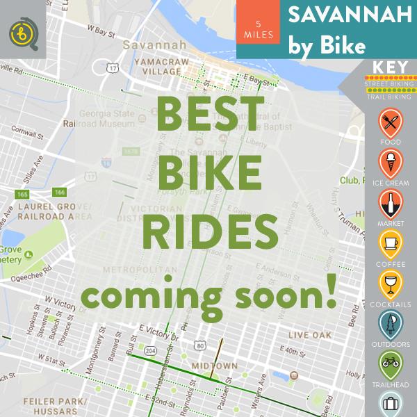 Best Bike Rides in Savannah
