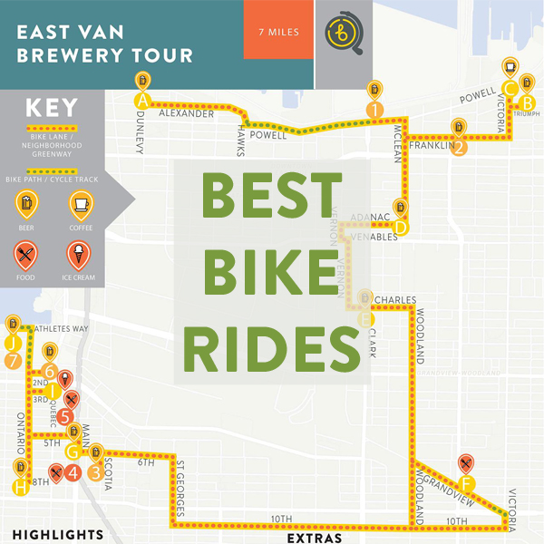 Best Bike Rides in Vancouver