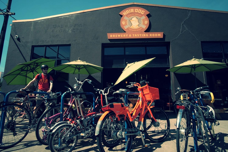 Bikabout-Portland-Hair-of-the-Dog-bike-corral.JPG