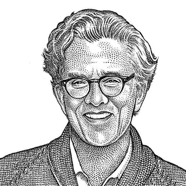 Kurt Andersen  Novelist and host of public radio's Studio 360. Illustration by Wall Street Journal.