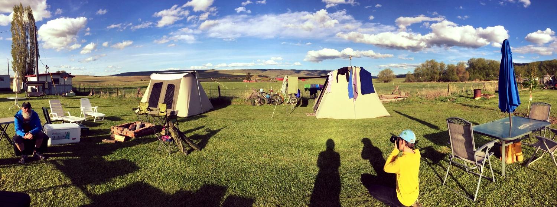 Campsite in Long Creek