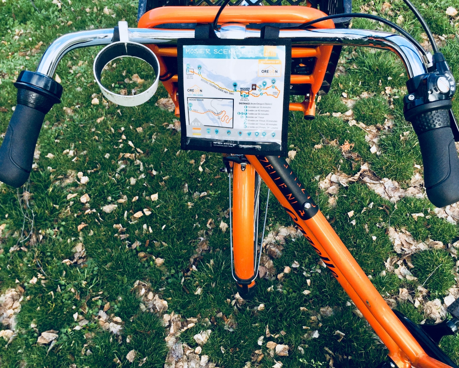 Oregon Ebikes Handlebar Tour Map