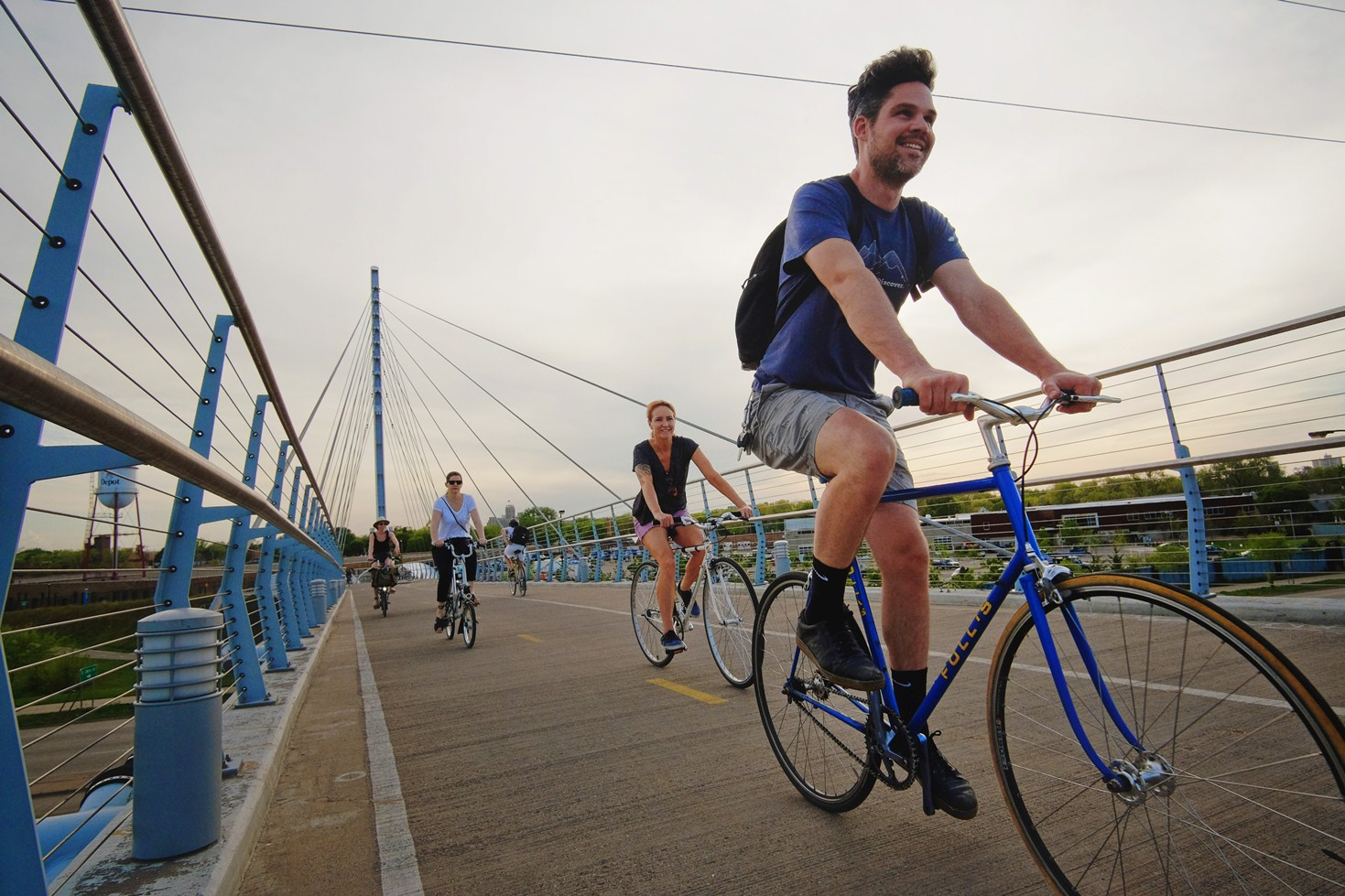 Sabo Bridge of Midtown Greenway. Photo by Kyle Ramey of Bikabout.com.