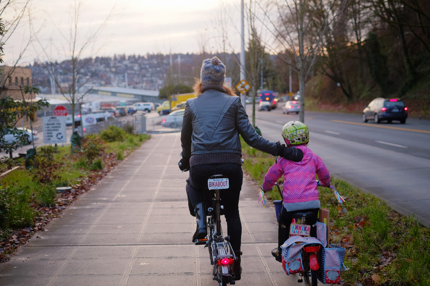 Lake Union Loop Trail. Photo by Kyle Ramey of Bikabout.com
