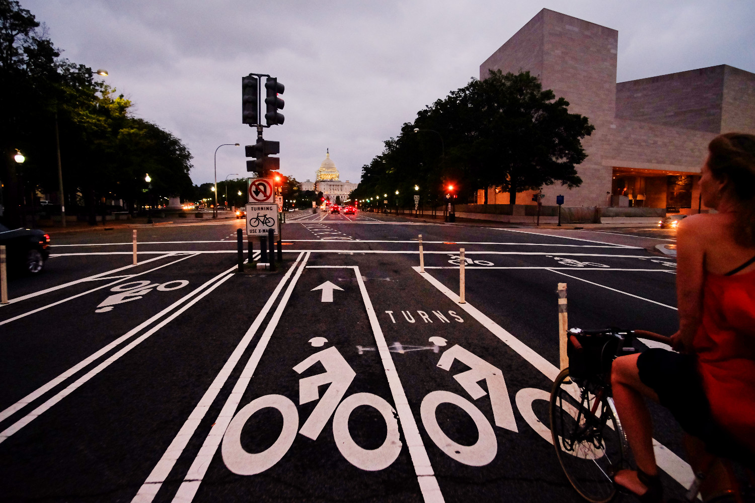 Pennsylvania Avenue. Photo by Kyle Ramey of Bikabout.com
