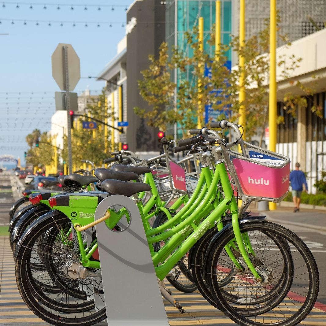 Santa Monica by Bike — bikabout